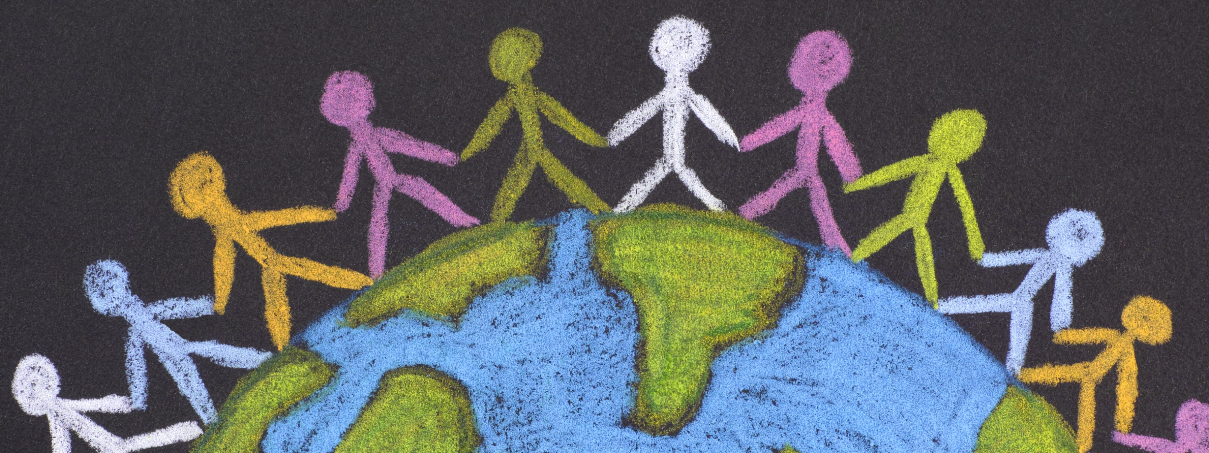 An image of people holding hands around the globe indicating that BCD patients have been reported around the world